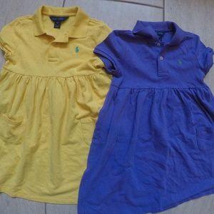 Girls Ralph Lauren Dress Bundle